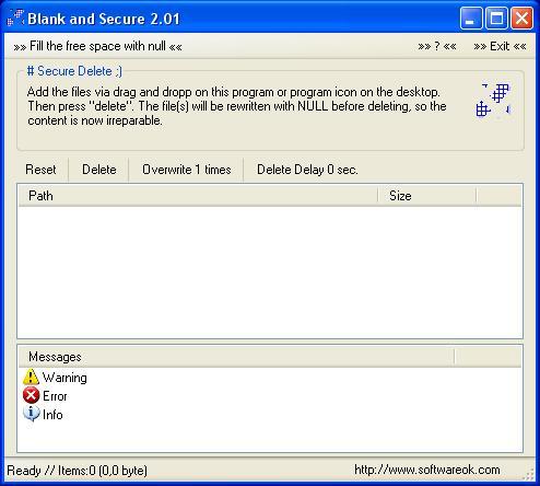 Blank And Secure Screenshot 1