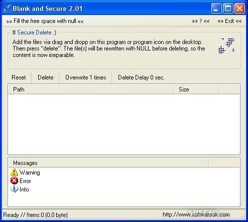 Blank And Secure Screenshot 3
