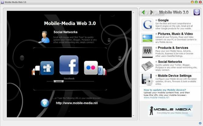 Mobile Media Web 3.0 Screenshot 3