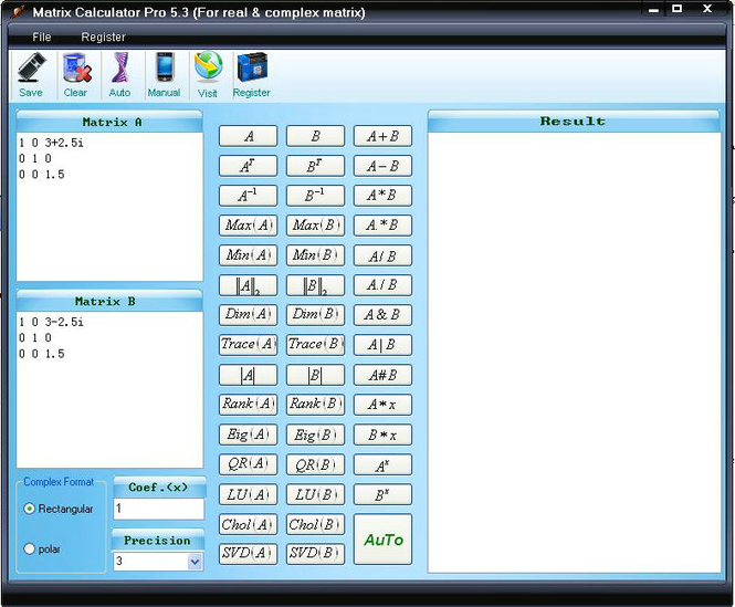 Easy Matrix Calculator Screenshot 3