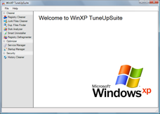 WinXp TuneUpSuite Screenshot 1