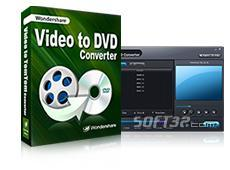 Wondershare Video to DVD Converter Screenshot 1