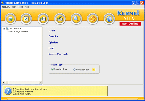Software Recovery Screenshot 1