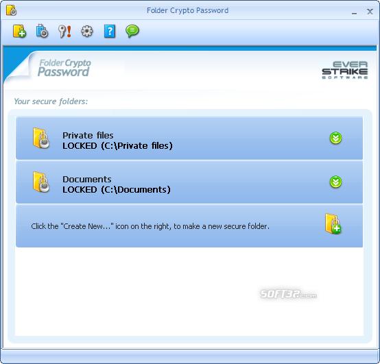 Crypto Password Protect Folder Screenshot 3
