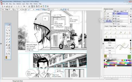 Manga Studio Debut Windows Screenshot 3