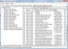 Windsty RegistryCleaner Screenshot 3