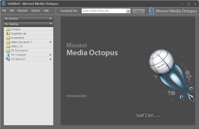 Movavi Media Octopus Screenshot 3