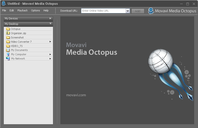 Movavi Media Octopus Screenshot