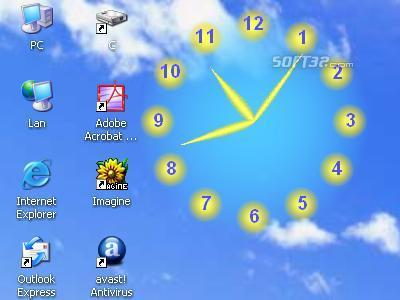 Screen Clock Screenshot 2