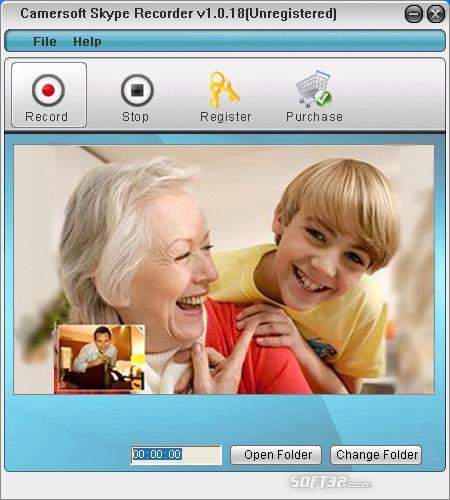 Camersoft Skype Recorder Screenshot 3