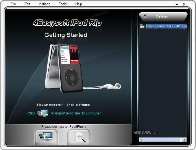 4Easysoft iPod Rip Screenshot 2