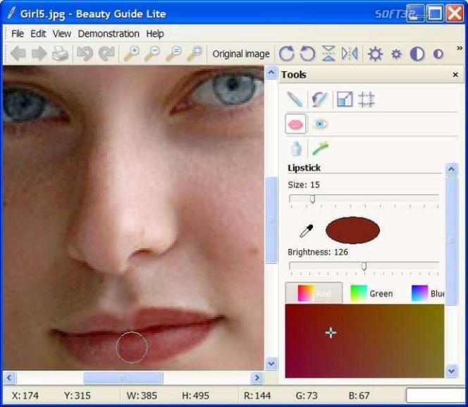 Beauty Guide Lite Screenshot 2