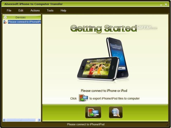 Aiseesoft iPhone to Computer Transfer Screenshot 2