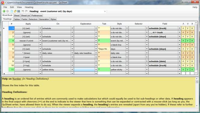 QuSheet Screenshot 1