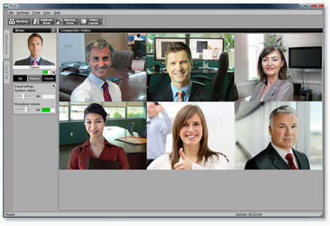 iVisit Presenter Screenshot