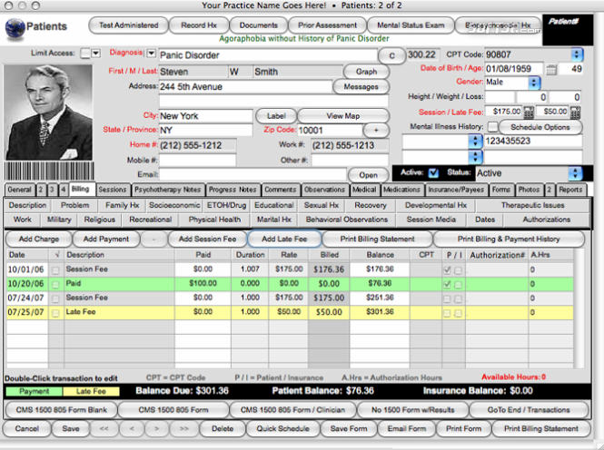 Geriatric Report-Senior Housing Management Software Screenshot 2