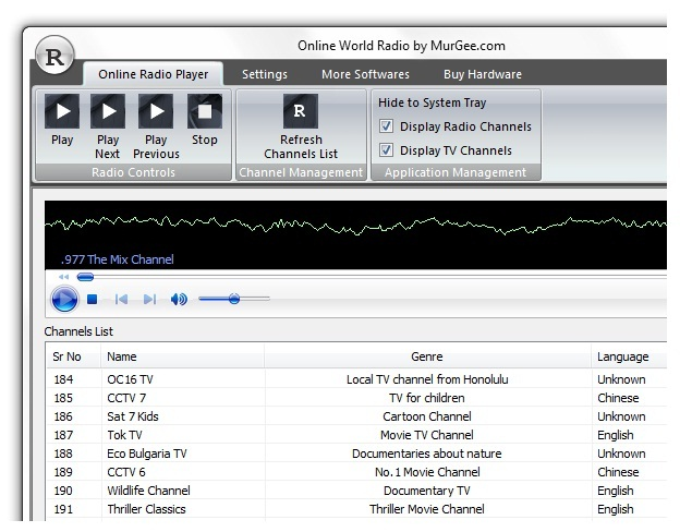 Online World Radio Screenshot