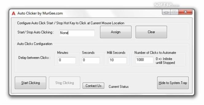 Auto Clicker Screenshot 2