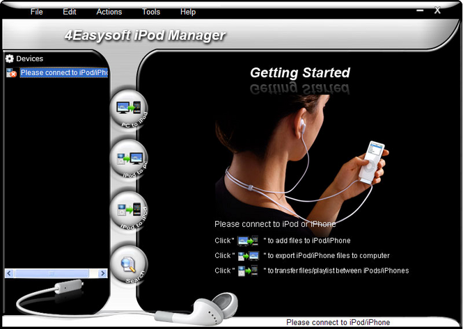 4Easysoft iPod Manager Screenshot