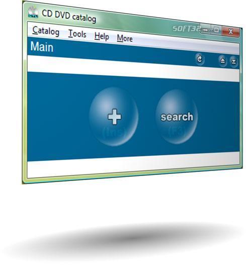 CD DVD catalog Screenshot 2