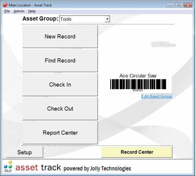 Asset Track Asset Management Software Screenshot 2