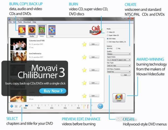 ChiliBurner Screenshot 2