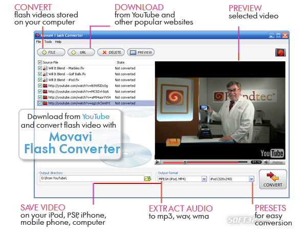 Movavi Flash Converter Screenshot 3