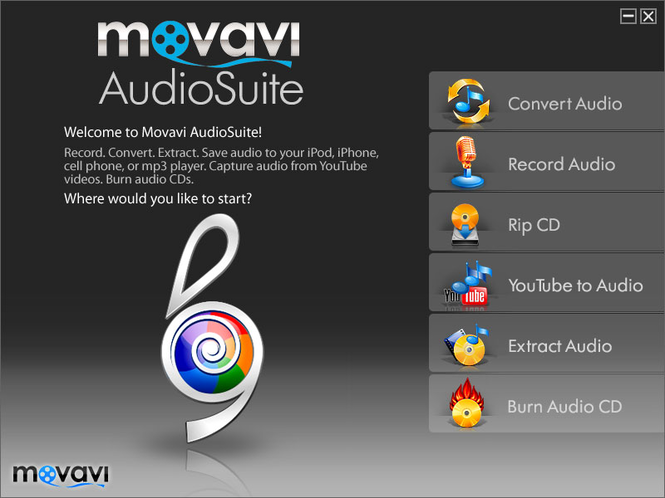 Movavi AudioSuite Screenshot 2