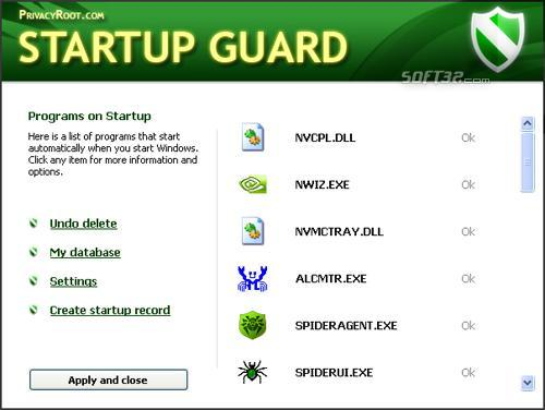 Startup Guard Screenshot 3