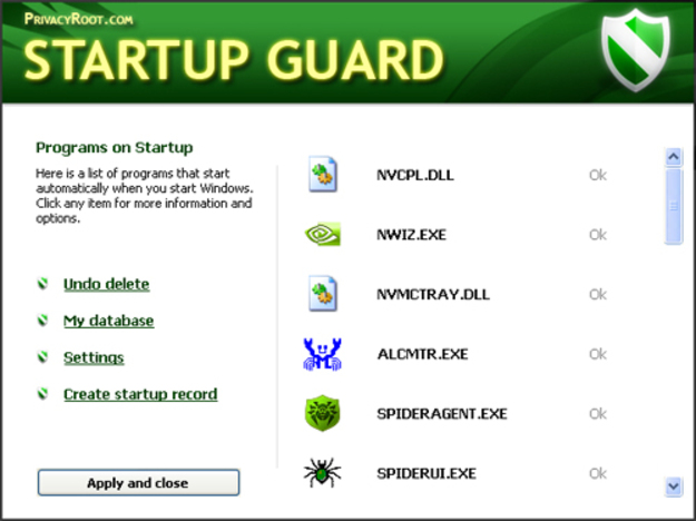 Startup Guard Screenshot 1