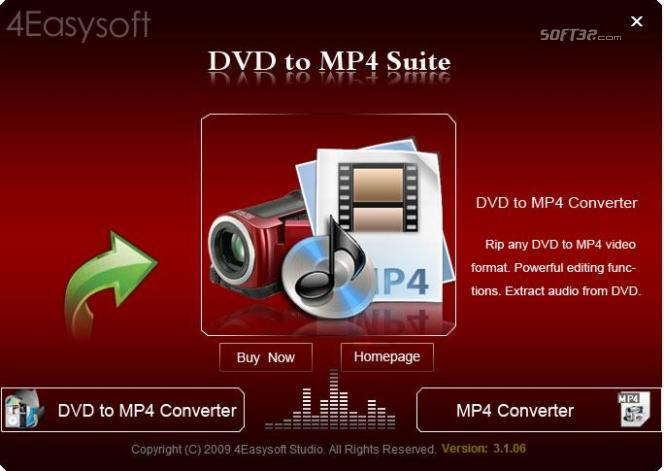 4Easysoft DVD to MP4 Suite Screenshot 2