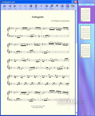 PDFtoMusic Screenshot 2