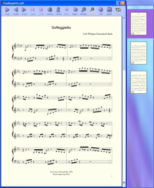 PDFtoMusic Screenshot 1