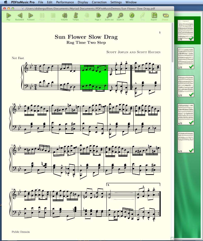 PDFtoMusic Pro Screenshot 4