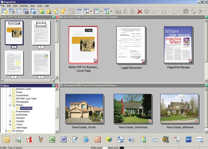 Nuance PaperPort Pro Screenshot