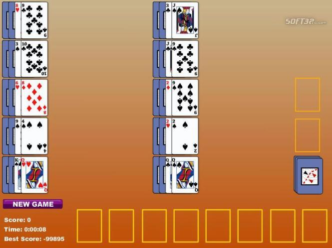 Single Pass Indian Solitaire Screenshot 2