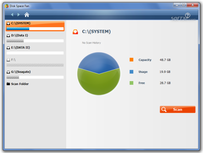 Disk Space Fan Screenshot 4