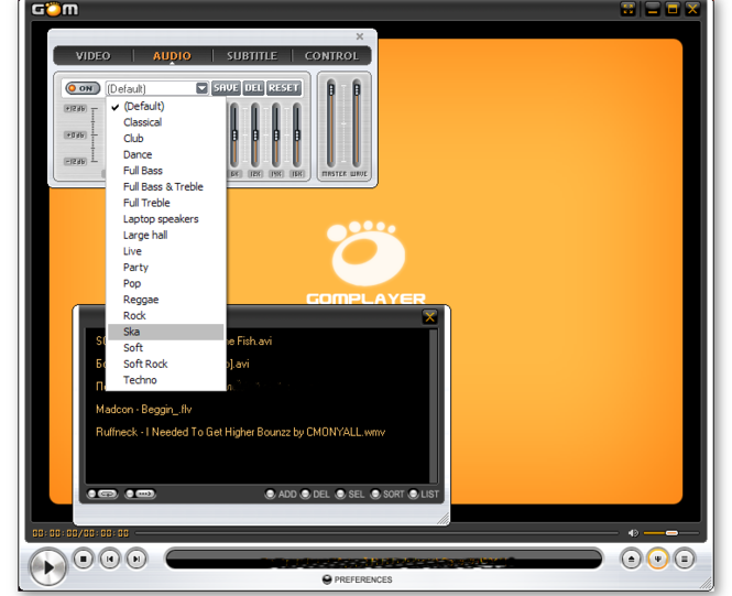 GOM Media Player Screenshot