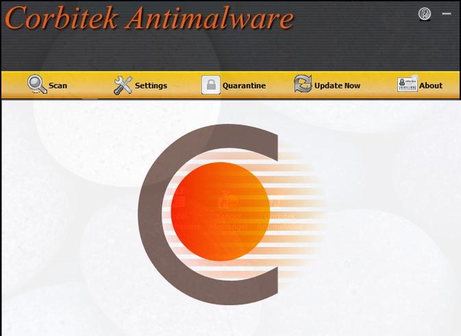 Corbitek Antimalware Screenshot