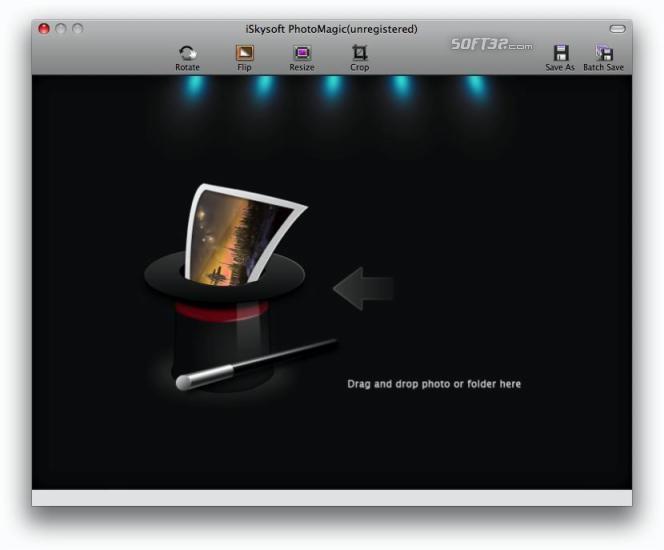 iSkysoft PhotoMagic for Mac Screenshot 1