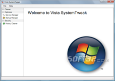 Vista SystemTweak Screenshot