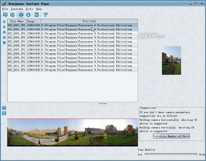 Instant Pano Screenshot 3