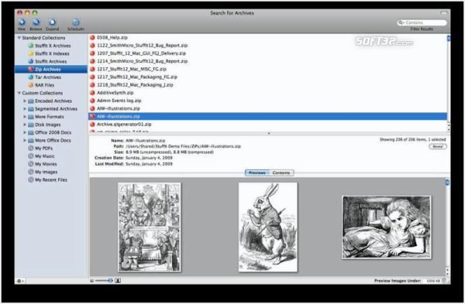 StuffIt Deluxe for Mac Screenshot 2