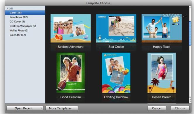 Wondershare iCollage for Mac Screenshot 2
