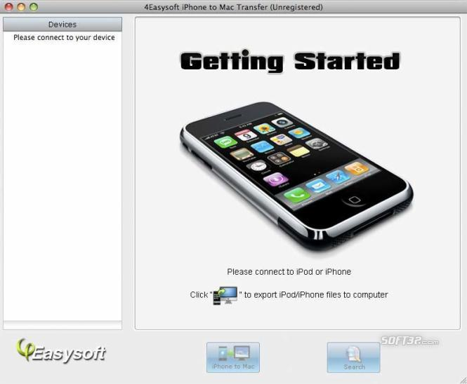 4Easysoft iPhone to Mac Transfer Screenshot 2