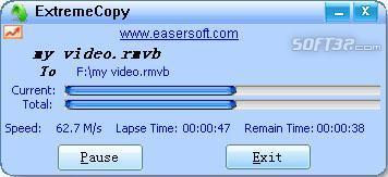 ExtremeCopy Screenshot 2