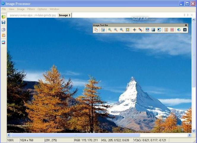 Photo Editor Software Screenshot 2