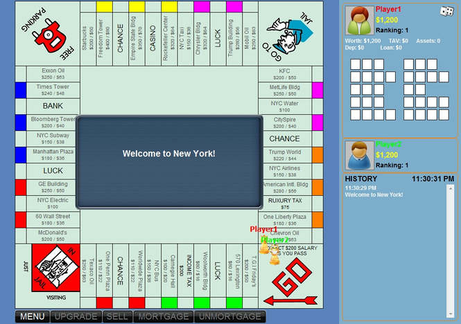 RichMan Games - Monopoly of New York Screenshot 1