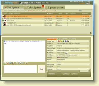 LiveHelpNow Screenshot 1