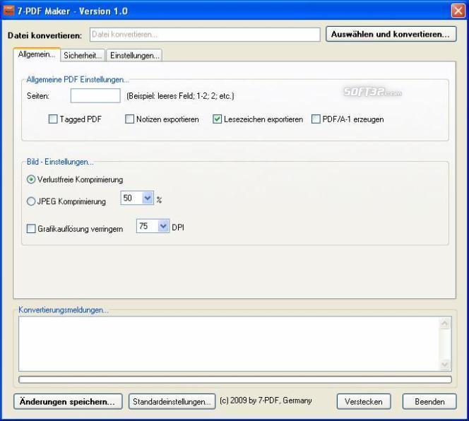 7-PDF Maker Screenshot 2